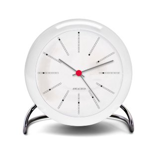 Table clock white